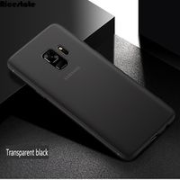 Ricestate For Samsung Galaxy 0.3mm Ultra Thin Matte Plastic Case for Samsung