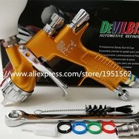 RERAS SPRAY GUN professional Gti pro lite golden painting TE20/T110 1.3mm nozzle