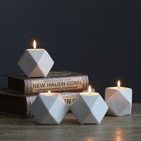 sunchamo Ceramic Candle Holder Ornaments Nordic Romantic