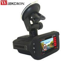 "winkcron 2018 Car Radar Detector Russian Voice 2.7"" DVR Camera Video Recorder FHD"
