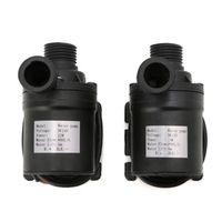 800L/H 5m DC 12V 24V Solar Brushless Motor Water Circulation Water Pump W315