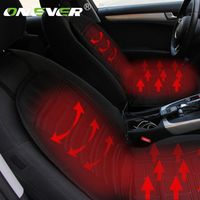 Onever 2pcs Seat Cushion DC 12V Quickly Electric Heating Pad Car Seat Covers
