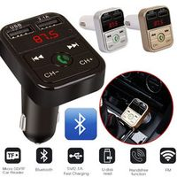 Vehemo Car Charger For Mobile Phone Tablet GPS Bluetooth Music Audio Receiver 2.1A