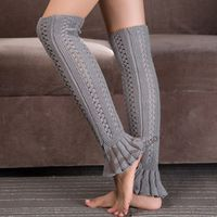 Leg Warmers for Women Spring Autumn Warm polainas Knitted