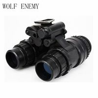 WOLF ENEMY Tactical Military Army Dummy AN PVS-15 NVG Night Vision Goggle Black