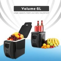 Ownice 12V Portable 6L Car Cooler Warmer Freezer Fridge Dual-use Home Travel