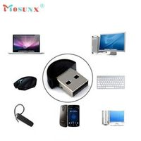 mosunx Factory Mini USB Bluetooth V2.0 Dongle Adapter for Laptop PC Win Xp Win7