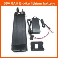 CYGEREEN 500W Electric Bicycle battery 36V 8AH Lithium silver fish with USB Port