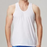Summer/Men's undershirt /100% cotton/ Men's vest / Loose /Comfortable and breathable/Large size/4XL/5XL/6XL/tb161010