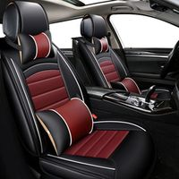 KOKOLOLEE PU leather car seats cover set for ford focus 2013/2014/2015/2016 mondeo