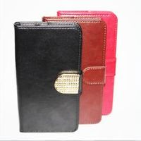 DOB BQ-5044 Strike LTE Cover PU Leather Flip Open Up and Down / Silk Pattern