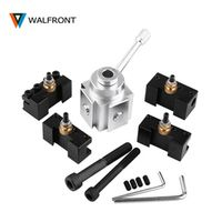 WALFRONT Quick Change Post Boring Turning Facing Holder Kit Set for Table Hobby mini