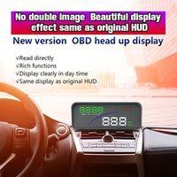ANENG Universal GPS HUD Digital Head Up Display Car Speeding Warning Plug Play P9