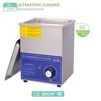 2L Ultrasonic Cleaner 220V Timer Wash Machine 80W 40KHz  Stainless Steel transducer w/ bascket for motherboard watch part PS-10T