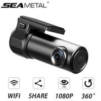 SEAMETAL Car DVR WIFI Camera Dash Cam Hidden HD Rearview Mirror Video Recorder