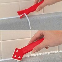 DWZ Tile Cleaner Plastic Professional Caulk Away Remover Finisher Made by Builders