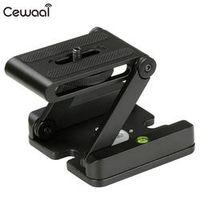 Cewaal Folding Head Studio Z-Type Z Pan Camera Flex Tripod Tilt Stand Holder Stable