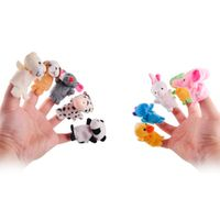 Daddy Chen Hand Toys for 10pcs/lot Five Finger Puppet