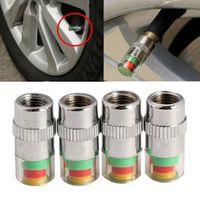 MAYITR 4pcs/Lot Car Auto 36PSI Tire Pressure Monitor Valve Stem Cap Sensor Indicator
