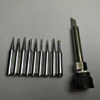 Solder Iron Tip 10pcsLead-free 900M-T casing For 936 SAIKE ATTEN AOYUE KADA YIHUA