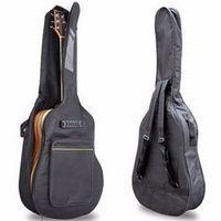 """bogesi 41"""" Guitar Backpack Straps Pockets Bag Sponge Padded"""