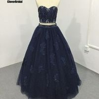 CloverBridal Crystals stones quinceanera dresses ball gown