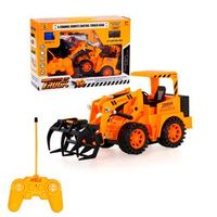 567TOYS 567-12 1/18 5CH RC Timber Grab Engineering Truck RC Toys Gift for Boys Remote Control Truck