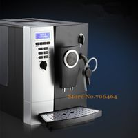 Automatic high quality CLT13 Espresso coffee maker with coffee bean grinder cappuccino nice crema & milk frother coffee machine