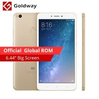 "Original Xiaomi Mi Max 2 Max2 Mobile Phone 4GB RAM 64GB 6.44"" Snapdragon 625 Octa Core 12.0MP OTG 5300mAh Battery Fingerprint ID"