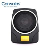 Carwales 10 Inch Audio Active High Car Maximum Power 800w Under Seat Subwoofers