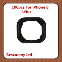 100pcs  for iphone 6 4.7 Home Button Holder Rubber Gasket  Sticker for iphone 6 plus 5.5
