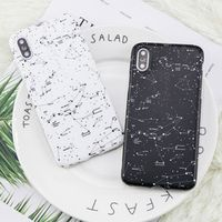 Starry Sky Case For Apple iphone X DILLON GUAN galaxy painted Soft TPU for iphone 6 7