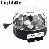 LightMe 10 - 25W 6 LEDs Premium Sound Control Stage Light RGB LED Magic Crystal Ball