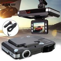 Ai CAR FUN Anti radar detector DVR camera flow detecting 2 in 1 dash cam car Motion