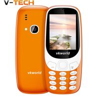 Vkworld Z3310 3D Screen 2.4 Inch Mobile Phone Loud Speaker FM Radio Dual Sim Card