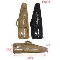 Tactical Military 120CM Heavy Duty Gun Bevel Carry Bag Rifle Case shoulder pouch