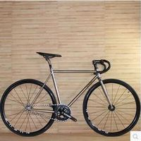 Aluminum TSunami haixiao 4130 leinuo 520 Fixed Gear Muscle Frame Solid tooth 52cm