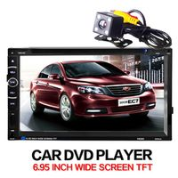 LaBo Car dvd player In Dash Stereo MP3 Head Unit CD Camera parking 2 din autoradio
