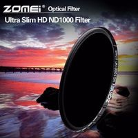 ZOMEI 52/58/67/72/77/82mm ND Filter Pro HD Multi-Coated ND1000 Neutral Density