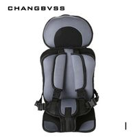 changbvss Potable Baby Car Seat Safety Seat for Children in