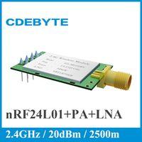 CDEBYTE E01-ML01DP5 PA LNA 20dBm 2500m Long Distance SPI 2.4GHz nrf24L01 Wireless
