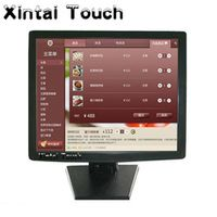 Xintai Touch 2015 desktop usb powered 15 inch touch screen LCD monitor for ATM POS