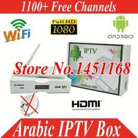 FREE SAT Freesat HD Android tv box Africa Europe Asia USA UK 1100 Channels 1 Year