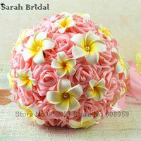 sarahbridal Romantic Wedding Bouquet Decoration Flowers