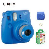 Fujifilm Instax Mini 8 Updated Version Mini 9 Camara Instantanea Instant Camera 10*2 Film Paper Camera Bag Close-up Shots Selfie
