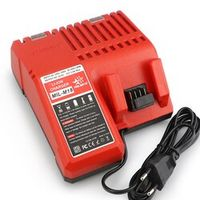 MELASTA Replacement Charger for Milwaukee M18 14.4V 18V Li-ion Battery 48-11-1815