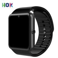 HOK Android Smart Watch Phone Gt08 Bluetooth Watch With Sim TF Card Camera For Iphone Android Support Russia Whatsapp Facebook