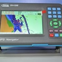 2017 SH-598 5inch marine gps cheap chart plotter competitive price from factory