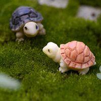 Zerkosvort 2016 Mini Resin Turtle Animal Dolls Anime Micro