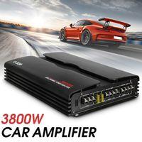 Audew Subwoofer 3800W RMS 4/3/2 Channel 12/24V 4ohm Truck Car Amplifier Audio Power